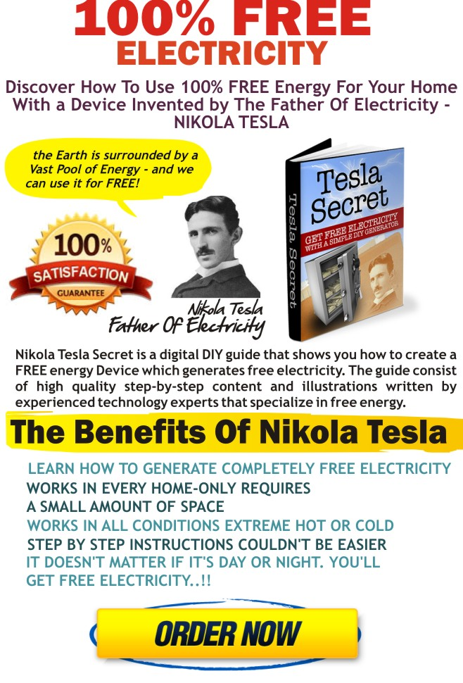 How To Get Free Electricity Tesla